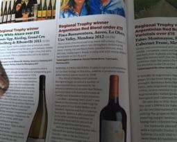 Vino Argentino de menos de £15, ganador de Medalla de Oro Regional – Decanter World Wine Award